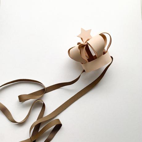 ele elle Original / Leather crown