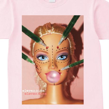 Eleven Nine / Tシャツ/  beauty doll/ピンク