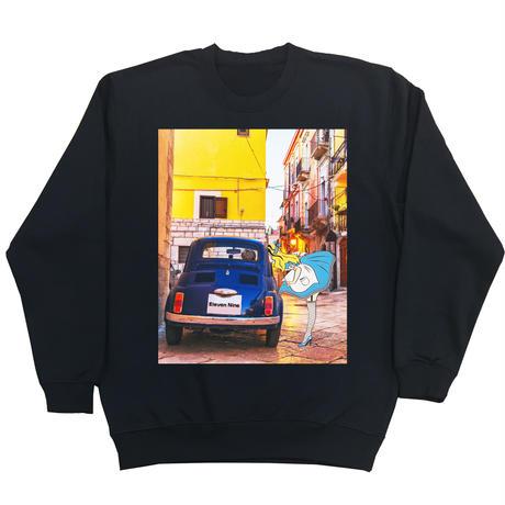 Eleven Nine / トレーナー/Alice  car /ブラック