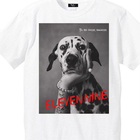 Eleven Nine / Tシャツ/ Dalmatian/ホワイト