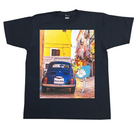 Eleven Nine / Tシャツ / Alice  car   / ブラック