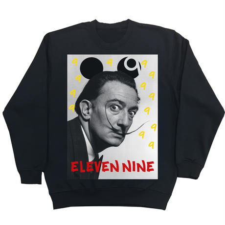 Eleven Nine / トレーナー/  Dalí 9 /ブラック