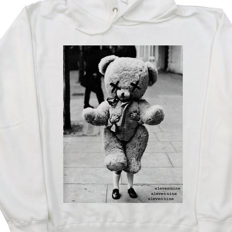 Eleven Nine / パーカー/Teddy bear  /ホワイト  PL