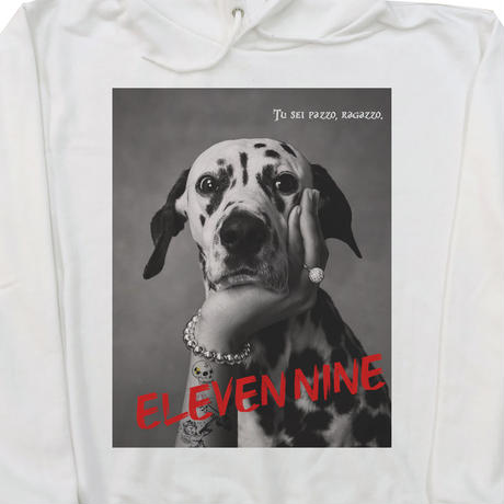 Eleven Nine / パーカー/Dalmatian/ホワイト