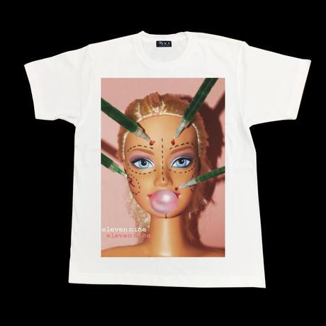 Eleven Nine / Tシャツ/  beauty doll/ホワイト