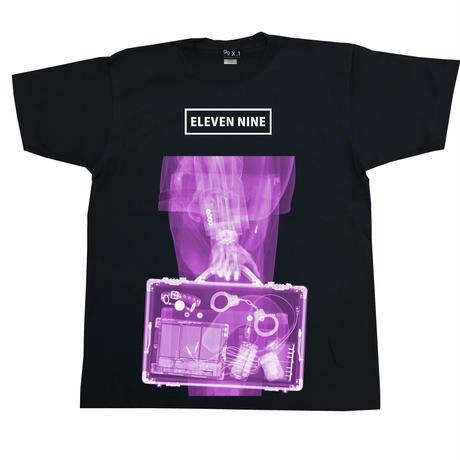 Eleven Nine / Tシャツ/  X-ray /  Bag  /ブラック