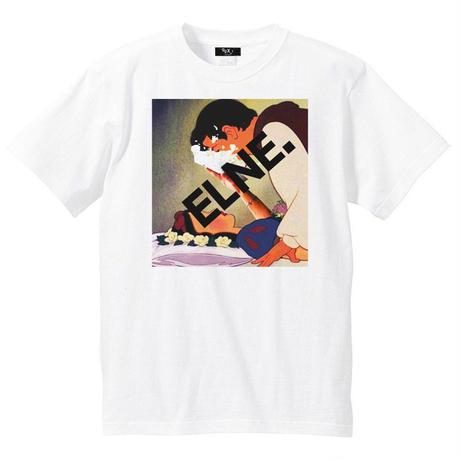 Eleven Nine / Tシャツ/Pie throw/ホワイト