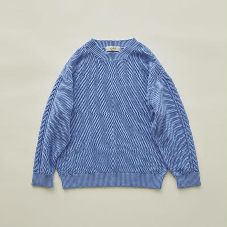 SAMPLE / mossstich sweater size130