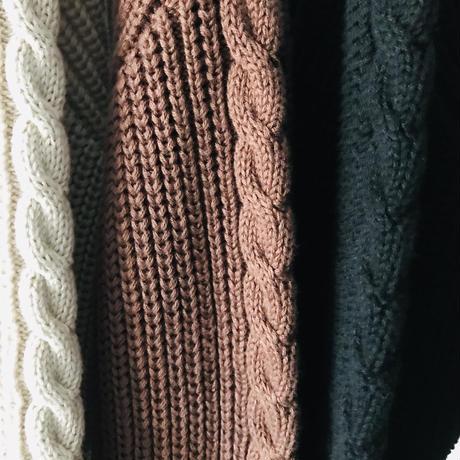 women's Rib stitch sweater