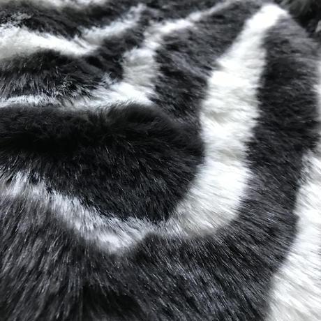 Zebra fur toque HAT by CA4LA