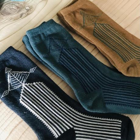 Abies high socks charcoal