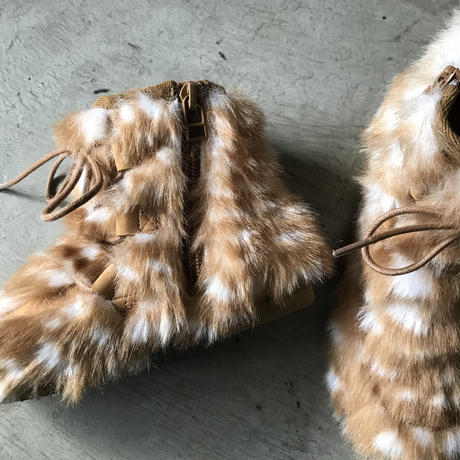 Fur boots by chammny BANBI FUR