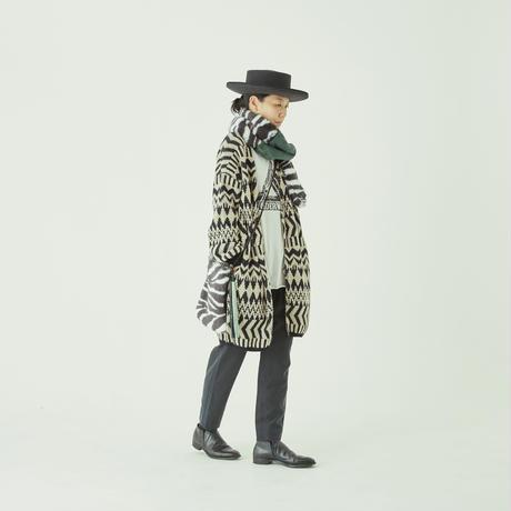 women's Folk jacquard cardigan