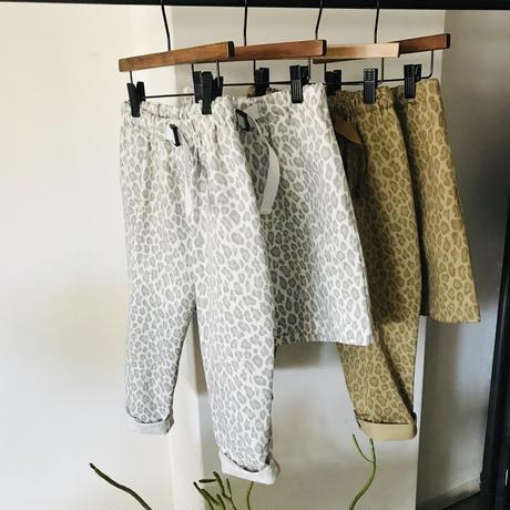 Snow leopard wide shorts