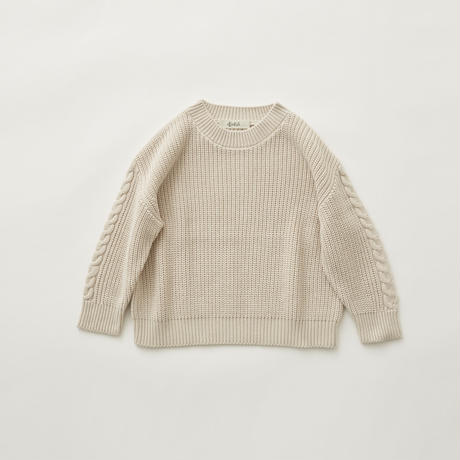Rib stitch sweater
