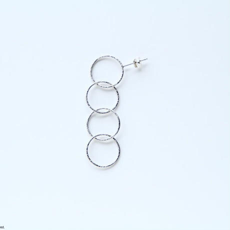Ring earring, b4 / SV