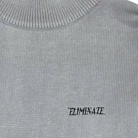 FRONT EMBROIDERY LOGO ニット