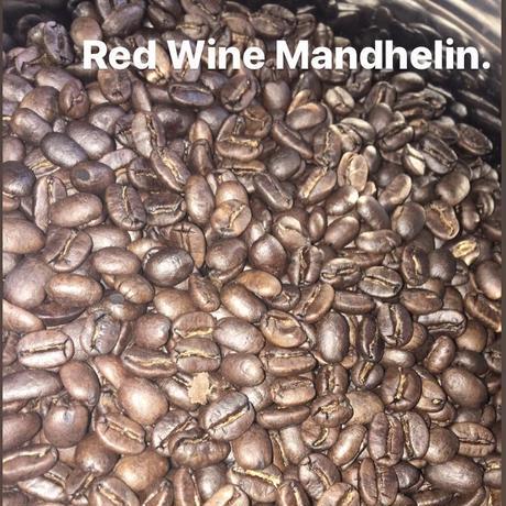 赤ワイン風味のマンデリン  100g  〜クイーン・スマトラ〜
