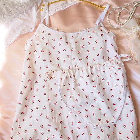 cute cherry キャミソール&ふんどしパンツ