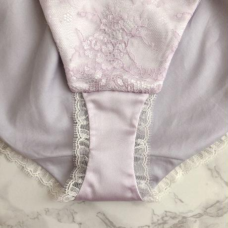 Lavender lavender high leg panty