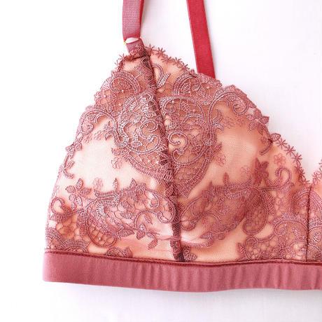 Nudie lace bra rose pink