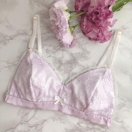 Lavender lavender Triangle soft bra