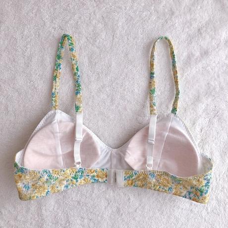 soft bra&panty set (yellowgreen)