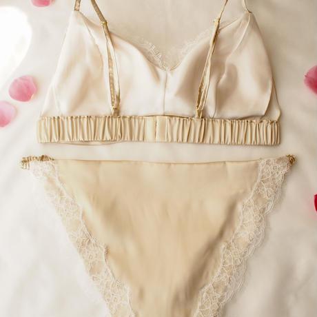 Lsize Gold bra&panty