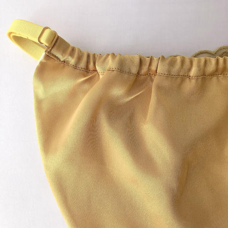 Mustard yellow flower panty
