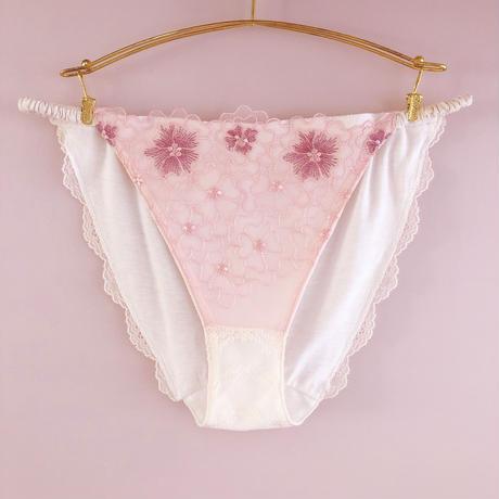 Mermaid pink cotton panty