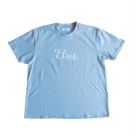 Elsie logo T-shirt BLUE