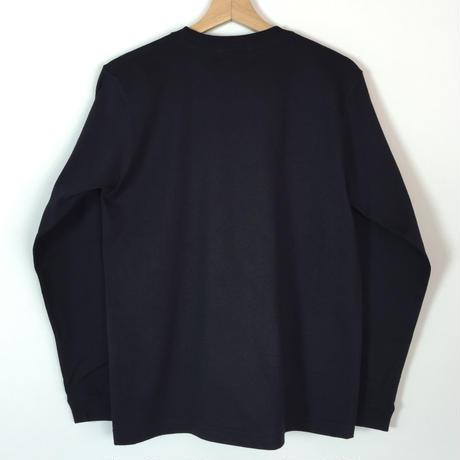 CIRCLE LOGO LONG SLEEVE T-Shirts BK