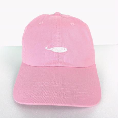 KAKI P Curve Cap PINK/WHITE