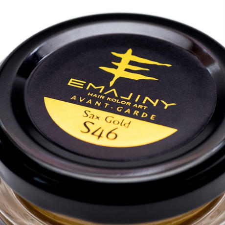 EMAJINY Sax Gold S46(サックスゴールドヘアカラーワックス)金36g【日本製】【無香料】