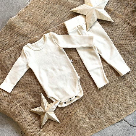 ivory -standard - rompers&leggings set-