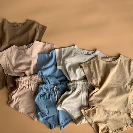 cotton100% natural setup // 再入荷