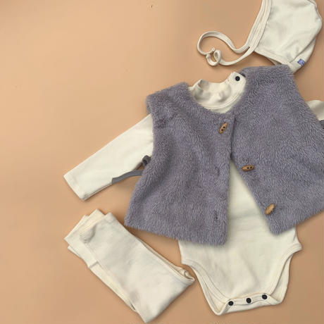 high necked / original standard - baby rompers set