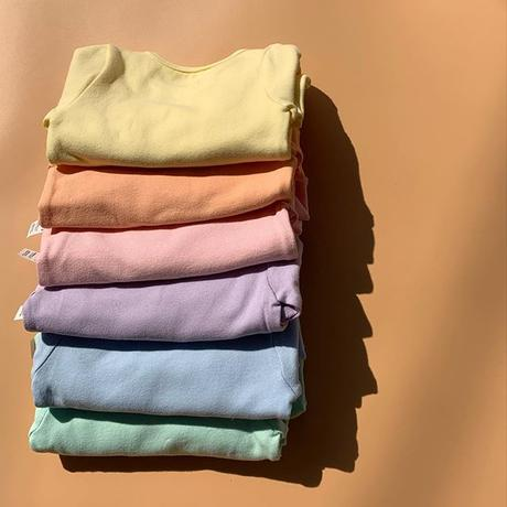 spring limited  color / baby middle standard rompers set up