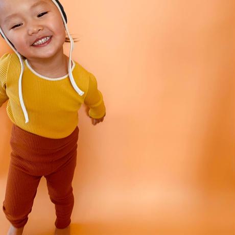 【retro rib】kids  tops