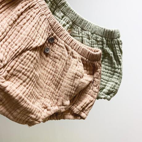 gauze pumpkin pants
