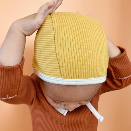 【retro rib】bonnet