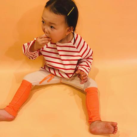 orange beige leggings // select item
