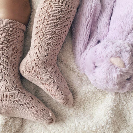 condor 593  crochet knee socks