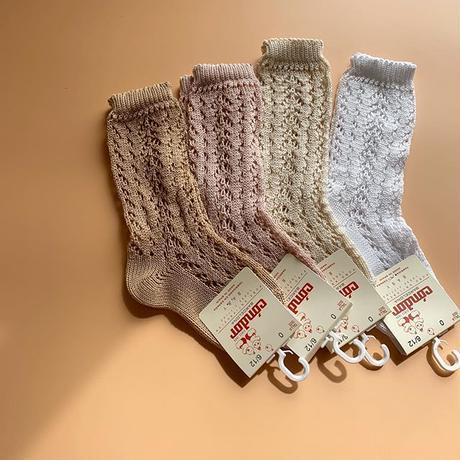 condor 518-2 openwork high socks