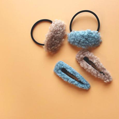 mocomoco hair tie & pin