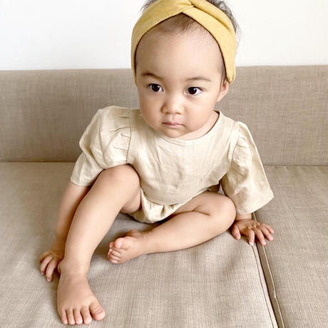 【quality time】girly linen kids setup