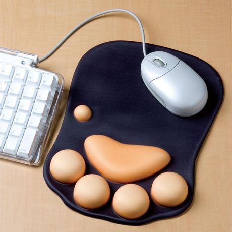 猫 ぷにぷに肉球 マウスパッド