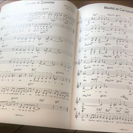 【楽譜】Bossa Nova Song Book①