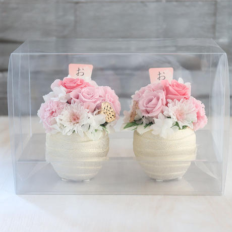 お供えの花(2個セット)