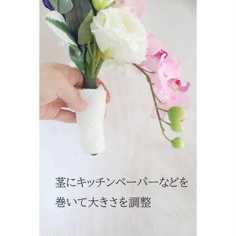 仏花 花器に差し込むタイプ(花器なし)2個セット